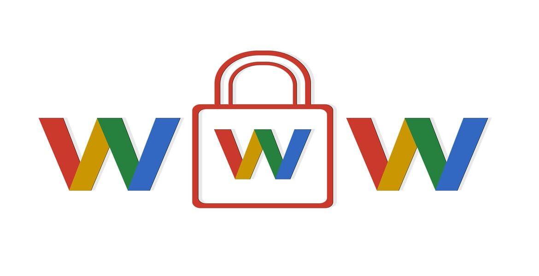 3 lettere w ed un lucchetto simbolo della privacy online